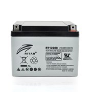 Аккумуляторная батарея AGM RITAR RT12260, Gray Case, 12V 26.0Ah (166 х 178 х125 ) Q1 фото