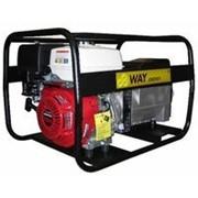 Бензиновая электростанция HNT 9000 двиг.Honda GX 390, 8,5 кВт, 400В, бак 6,5 л, 80 кг, руч. пуск фото