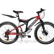 """Велосипед 26\"""" CRONUS EXTREME (белая полоса, бутылка) фото"""
