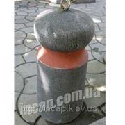Столбик бетонный фото
