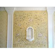 Рельефная роспись стен фото