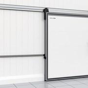 Дверь откатная для охлаждаемых помещений фото