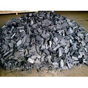 Древесный уголь с бука фото
