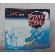 Капсулы для посудомоечной машины 40 шт. Power wash фото