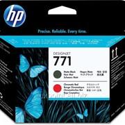 Картридж HP 771 MATTE BK/red designjet Printhead фото