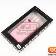 Накладка iPhone 4S M.JACOBS (силикон) ЗАЙЧИК розовый 70513o фото