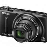 Цифровой фотоаппарат Nikon COOLPIX S9400 Black фото