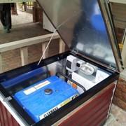 Миниконтейнер для бензинового генератора фото