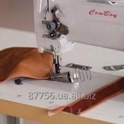 HIGHTEX 7618 Одноигольная промышленная швейная машина челночного стежка с тройным продвижением фото