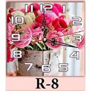 Часы R-8, 30х30 фото