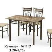 Стол и стулья №1102 фото