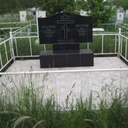 Памятник гранитный семейный на двоих фото