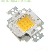 Светодиод мощный 10W 12V 900LM 2700-3500K фото