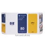 Картридж Ink HP c4873 №80 Y for HP DJ 1050C/1055C 175ml фото