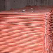 Cathodes copper, aluminum, zinc and lead фото