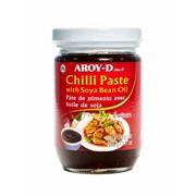 Чили паста с соевым маслом 260 гр ст.б Арой фото
