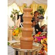Шоколадный фонтан на настоящем бельгийском шоколаде в Астане фото
