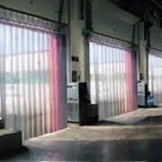 Завесы для холодильников, гибкие завесы, шторы для автомойки, промышленные шторы фото