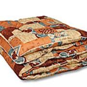 Одеяло из овечьей шерсти Традиция двуспальное теплое фото