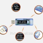 USB Тестер Keweisi kws-v20 вольтметр амперметр измеритель ёмкости аккумулятора SKU0000243 фото