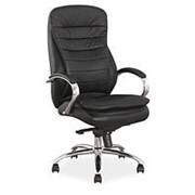 Кресло компьютерное Signal Q-154 (черный, кожа) фото