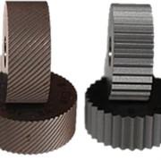 Ролик для накатки сетчатого рифления d 19,05*9,5*6,35 мм, с одинарная косая насечка, правая фото