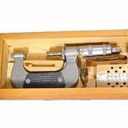 Микрометр с плоскими вставками для измерения мягких материалов ГОСТ 4380-93 фото