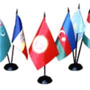 Подставка для флагов (настольная) фото