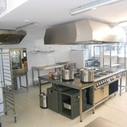 Mobilier din inox, hote фото