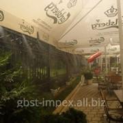 Охлаждение летних кафе и ресторанов фото