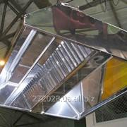 Вытяжной зонт из нержавеющей стали (нержавейки) фото