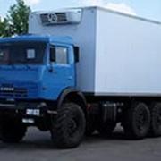 Камаз 43118 (двиг. КАМАЗ 300 л/с) изотермический фургон фото