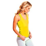 Майка для похудения - Body Shaper, размер S (жёлтый) фото