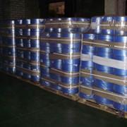 Пленка полиэтиленовая термоусадочная с флексопечатью и перфорацией для упаковки пиломатериалов фото