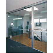 Автоматические двери из стекла системы MANET