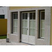 Дверные коробки из гранита и мрамора фото