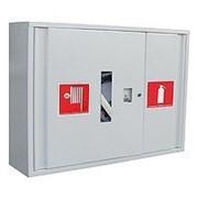 Шкаф пожарный 600х800х230 встроенный (с задней стенкой) фото