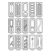 МДФ накладка 16мм для входных металлических дверей №3 фото