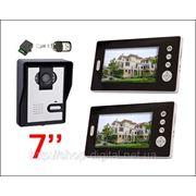 Видеодомофон с 2 мониторами 7д.диагональ фото