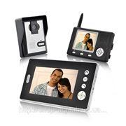 Видеодомофон с 2 мониторами 7д.диагональ и 3.5д. фото