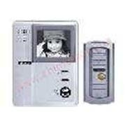 Комплект видеодомофона Jeja 278 M HF ч/б фото
