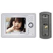 Комплект видеодомофона Jeja 258-C5 цв HF фото