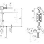 Указатель уровня Т-45-2; PN,МПа 2,5; сталь 20 фото
