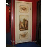 Дверь с росписью фото