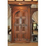 Двери из Массива (Входные) фото