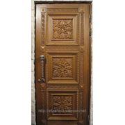 Дверь входная дубовая фото