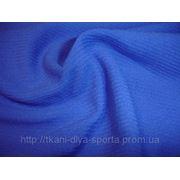 Стрейч-сетка «паутинка» синяя фото
