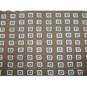Бифлекс шоколадный с бирюзовым напылением фото
