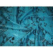 Бифлекс с напылением бирюзово-голубой фото