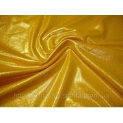 Бифлекс солнечно-желтый с золотым напылением фото